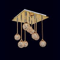 Люстра «Лучия 9» золото LS-11667-9 GD