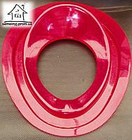 Детское сиденье (накладка) на унитаз Н010 (красное)