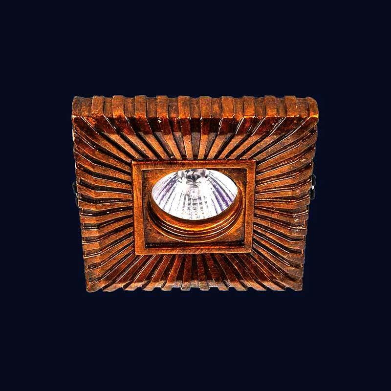 Встраиваемый точечный светильник LS-11761 ANTIQUE GD