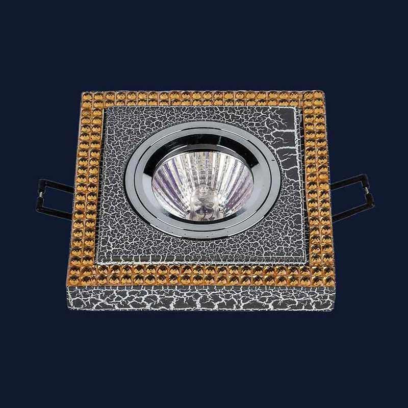 Встраиваемый точечный светильник LS-11777 CRAZE BK+GD