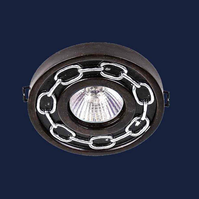Встраиваемый точечный светильник LS-11765 WOOD+SL