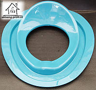 Детское сиденье (накладка) на унитаз Н011 (голубое)