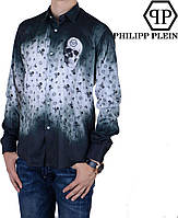 Модная,стильная мужская рубашка  Philipp Plein