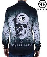 Клубная мужская рубашка  Philipp Plein