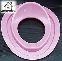 Детское сиденье (накладка) на унитаз Н012 (розовое)