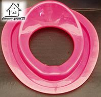 Детское сиденье (накладка) на унитаз Н013 (малиновое)