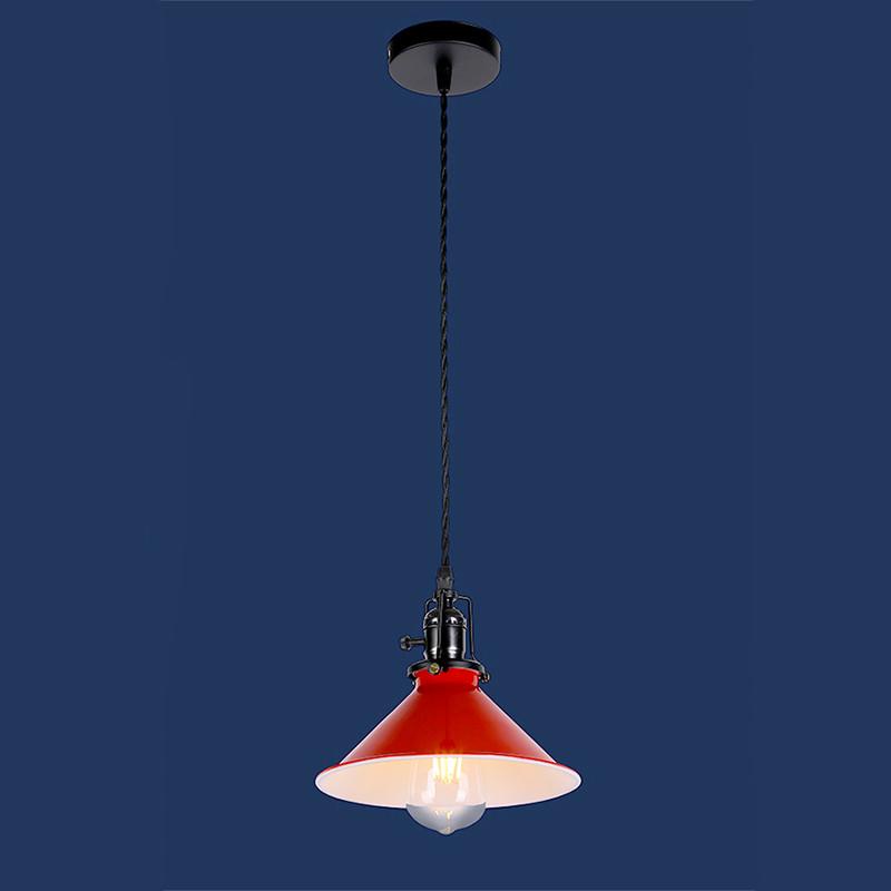 Люстра «Цофия 1» красная LS-12031-1 RED