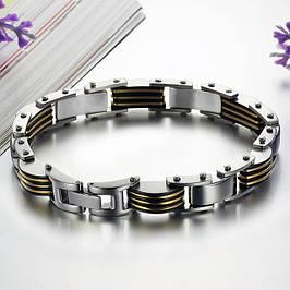 Мужские браслеты из стали