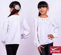 Очень интересная и необычная блузка в школу