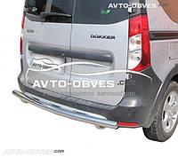 Защита заднего бампера Dacia Dokker