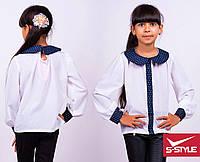 Блузка для принцессы в школу