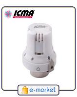Icma Термостатическая головка для терморегулирующих и термостатических вентилей 28*1,5. Арт. 986