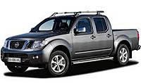 Защита заднего бампера Nissan Navara (2005-2014)