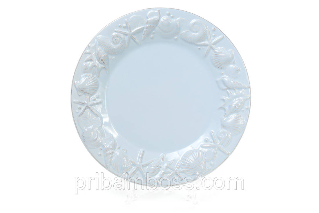 Набор тарелок керамических Морские мотивы 3 шт.