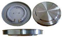 Тэн на дисковый чайник. диаметр 146.5\149.5 мм мощность 1850 вт на 220 в.Нержавеющий