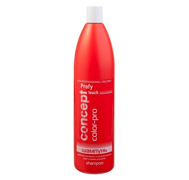 Шампунь глубокой очистки Concept Profy Touch deep cleaning shampoo 1000 мл