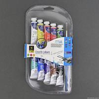 Гуашь для рисования 101 / 555-538 (72) 10шт в упаковке, 10 цветов, 10мл