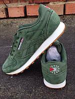 Кроссовки Reebok зеленые мужские , фото 1