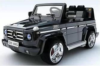 Электромобиль Mercedes - Benz G 55 черного цвета