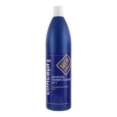 CONCEPT Men Universal Shampoo 4in1 - Универсальный шампунь 4 в 1 для мужчин 1000 мл