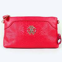 Клатч - сумка в стиле Roberto Cavalli (малиновый цвет), фото 1