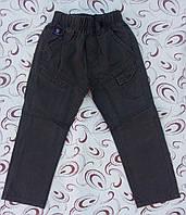 Котоновые штаны для мальчика  р. 98