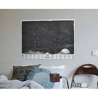 Карта звездного неба, которая светится в темноте.