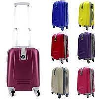 РАСПРОДАЖА! Прочные чемоданы из ABS PC поликарбоната на колёсах (Венгрия). Размер S (41л). Разные цвета.