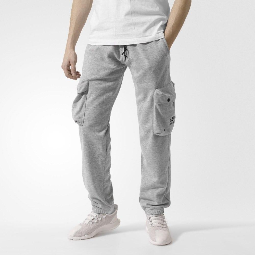 Штаны с накладными карманами Adidas Cargo Track Pants AY9299