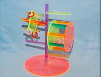 Игрушки для попугаев, развивающие игрушки для попугев.Большой ассортимент аксессуаров для клеток