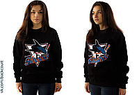 Свитшот San Jose Sharks Black S