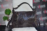 """Кожаная женская сумка """"Рептилия""""."""