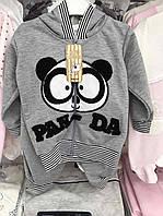 """Спортивный костюм для девочки """"Панда"""" на 2-3 года"""