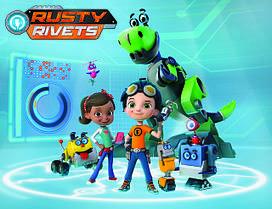 Игрушки Расти-механик Rusty Rivets