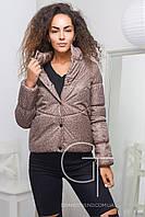 Стильная демисезонная куртка с длинным рукавом