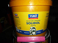 Смазка Солидол жировой NLGI 2-3 Yukoil (ведро пл. 9кг)