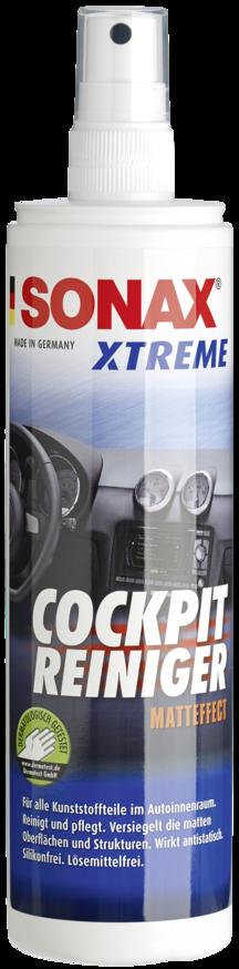 Очиститель-полироль для пластика с матовым эффектом SONAX XTREME Cockpit Cleaner Matt Effect 300 мл