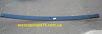 Лист рессоры передней  Камаз, №1 , коренной, длина 1675 мм (производитель Чусово, Россия)