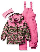 Зимний раздельный розовый комбинезон Pink Platinum(США) 2Т для девочки 2 года