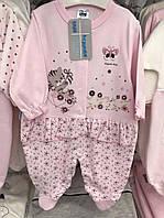 Бодик, набор для девочек, розовый