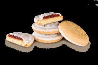 Печенье Делиция в молочной глазуре вишня 0,8 кг.