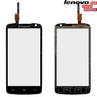 Сенсорный экран (touchscreen) для Lenovo S820, #FT53160ME, черный, оригинал