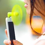 Вентилятор для смартфона - вентилятор USB, фото 3