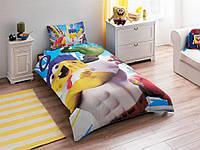 Постельное белье подростковое TAC Disney 160х220 -  Sponge Bob Movie