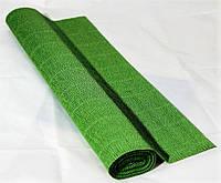 Бумага гофрированная Италия( 250х50), травянисто-зеленая