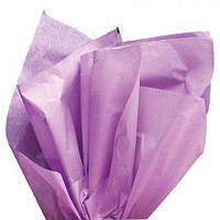 Тишью папиросная бумага лавандовая