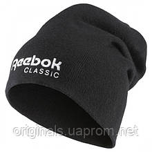 Шапка Reebok Classics Foundation черная AX9977