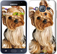 """Чехол на Samsung Galaxy J3 Duos (2016) J320H Йоркширский терьер с хвостиком """"930c-265-744"""""""