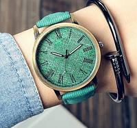 Часы Джинс (green)
