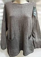 Свитер кашемировый женский батальный, фото 1